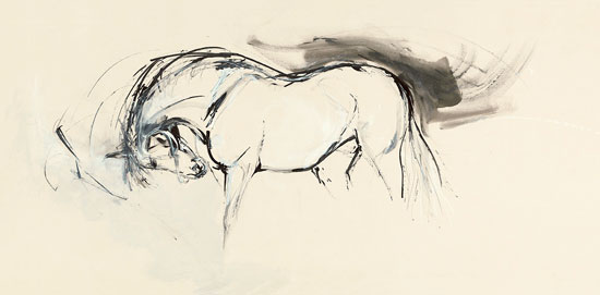 550x271 Big Ink Drawing Horse Ink Drawings And Drawings
