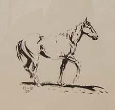 225x215 Ink Western Art Drawings Ebay