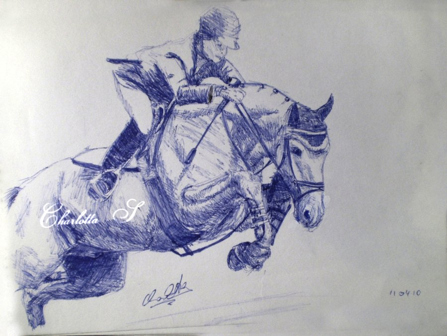 Pencil Horse Drawing Devian Art