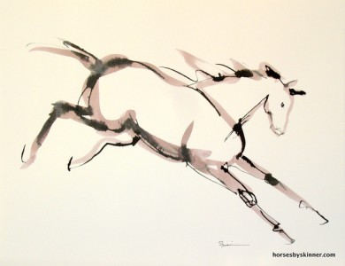 390x300 Horse Drawings Product Categories Horses By Skinner