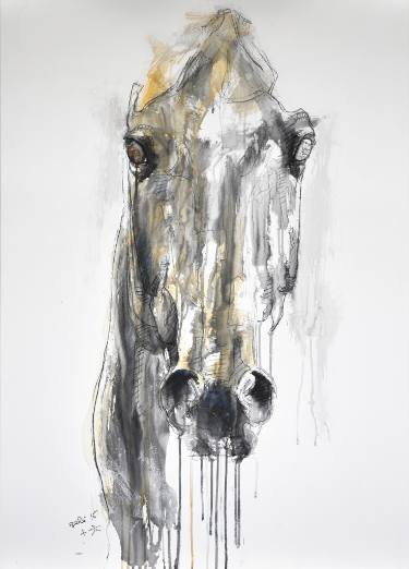 375x522 Horse Drawings For Sale Saatchi Art