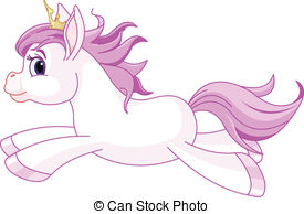 275x194 Illustration Of Cute Horse Princess Rearing Up Eps Vector