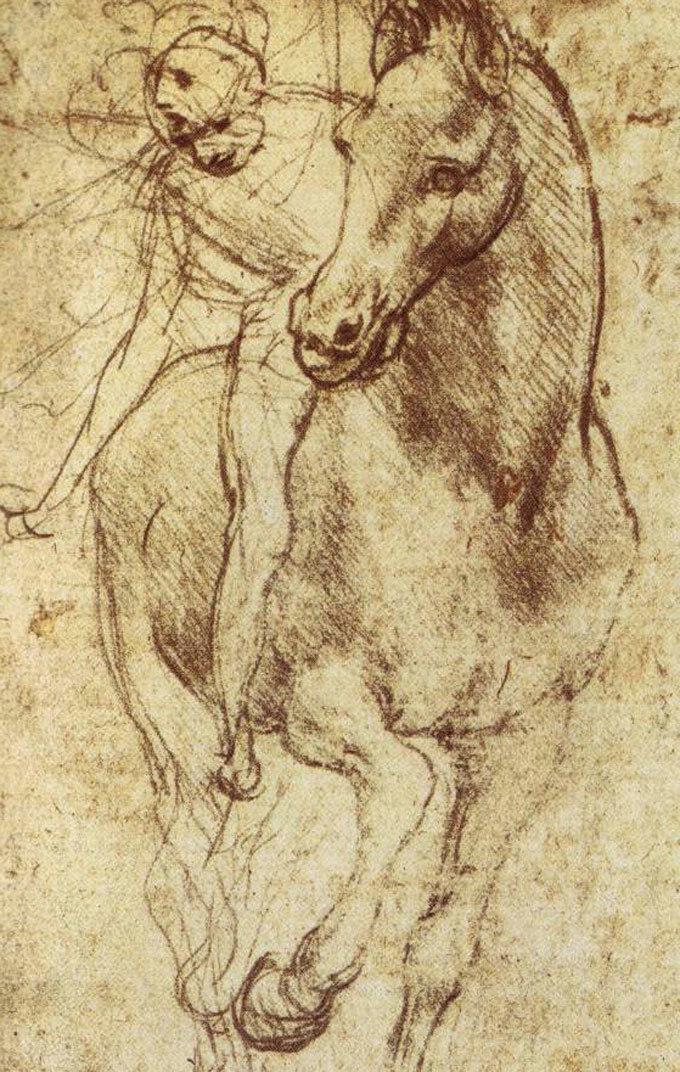 680x1072 Artwork By Leonardo Da Vinci