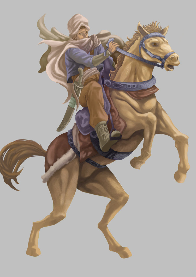 751x1063 Horse Rider By Graphic Ops