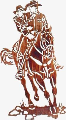 222x400 Horse Riding, Horseback Riding, Cowboy, Cowboy Couple Png Image