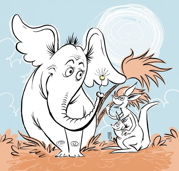605x576 11 Best Horton Hears A Who Images On Dr Suess, Horton