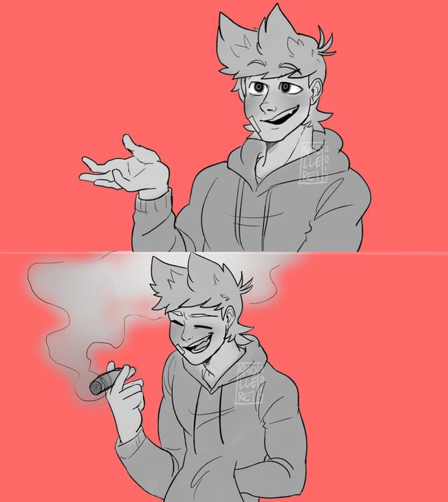 640x717 Me Smoking Kills. Tord I Got A Death Wish Pal Me Sprays With Fire