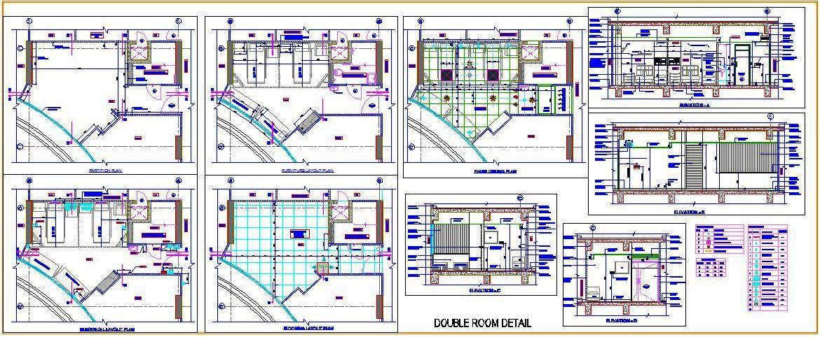 1170x482 Hospital Double Bed Room Plan N Design