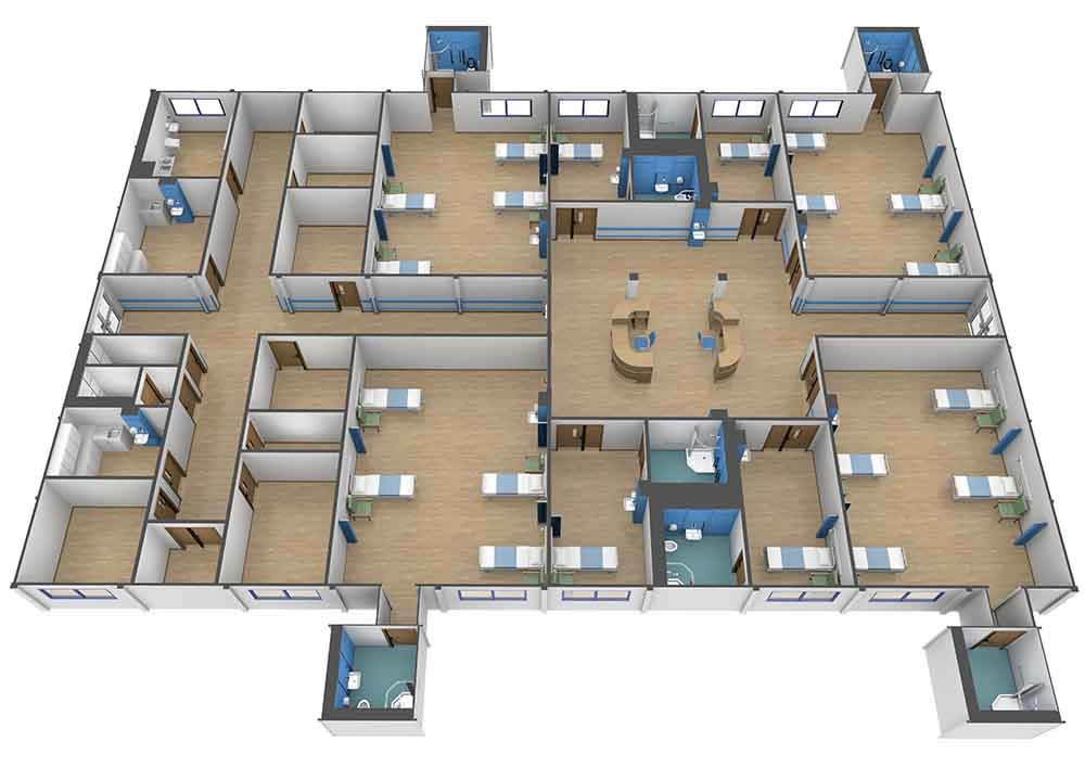 1000x707 Extra Ward Capacity For Princess Alexandra Hospital