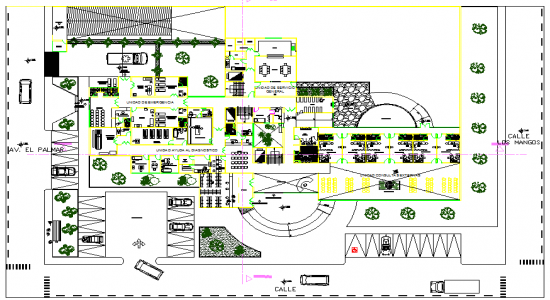 550x300 Autocad File Hospital Projects