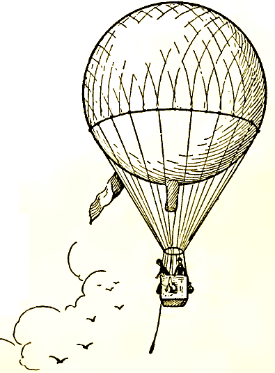 395x536 Hot Air Balloon Drawing How To Draw Hot Air Balloons With Easy