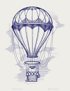 236x306 Hot Air Balloon Artsy Hot Air Balloons, Air