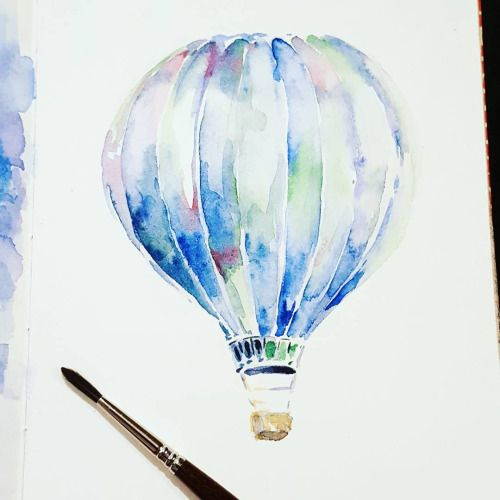500x500 Image Result For Hot Air Balloon Drawing Tumblr Drawing