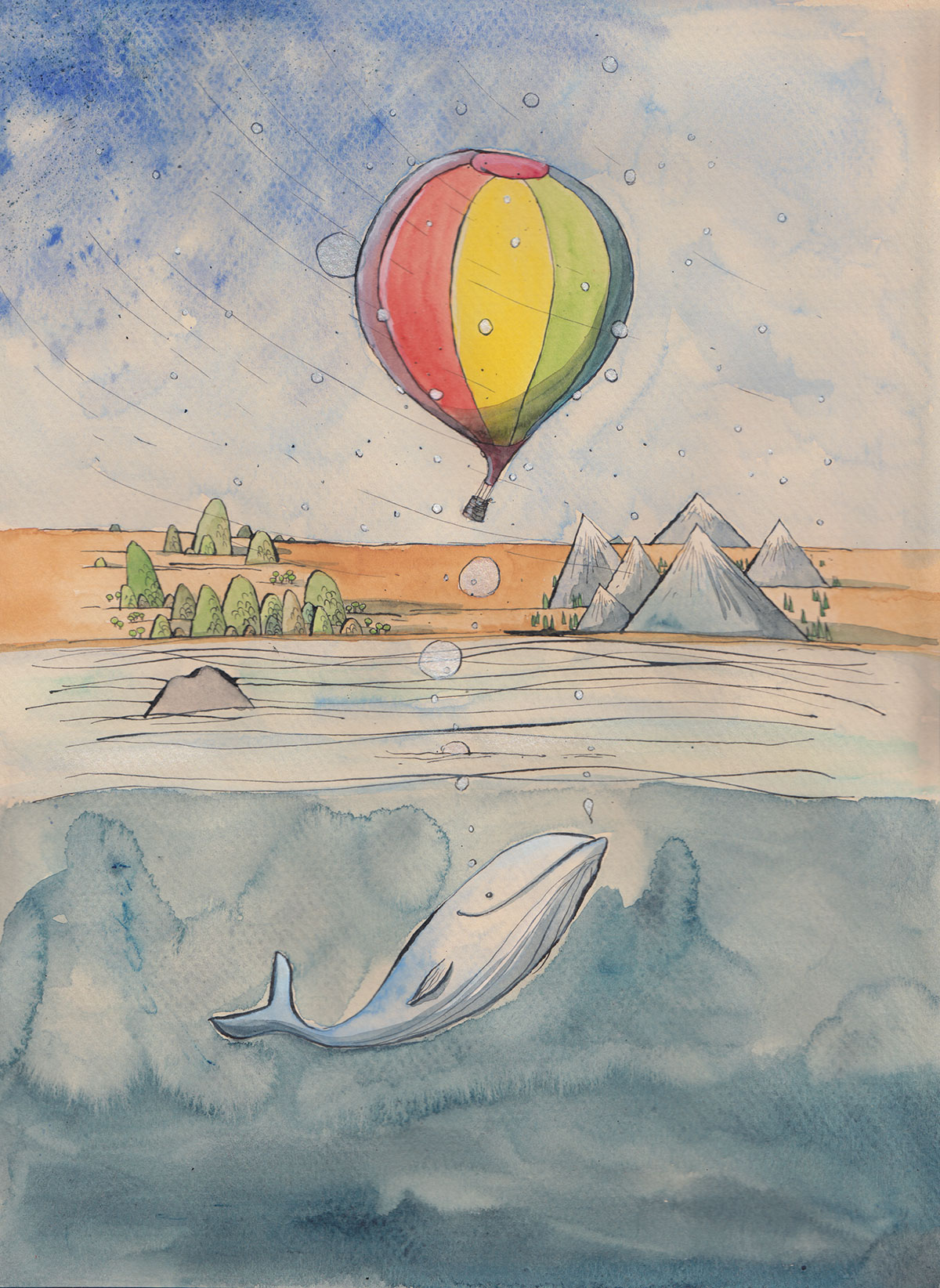 1200x1644 Drawing Prompt Hot Air Balloons! Bobbledy Books