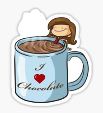 210x230 Chocolate Milk Drawing Stickers Redbubble