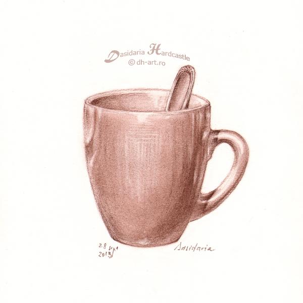 600x600 Hot Chocolate By Dasidaria Art