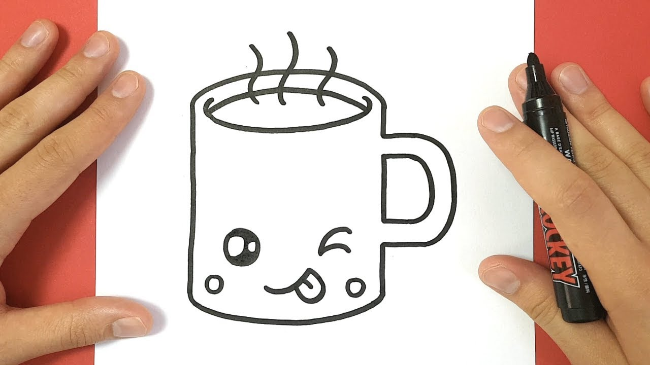1280x720 How To Draw A Hot Chocolate Cup Cute And Easy