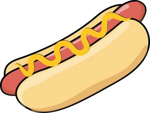 300x227 Food Hot Dog Clipart