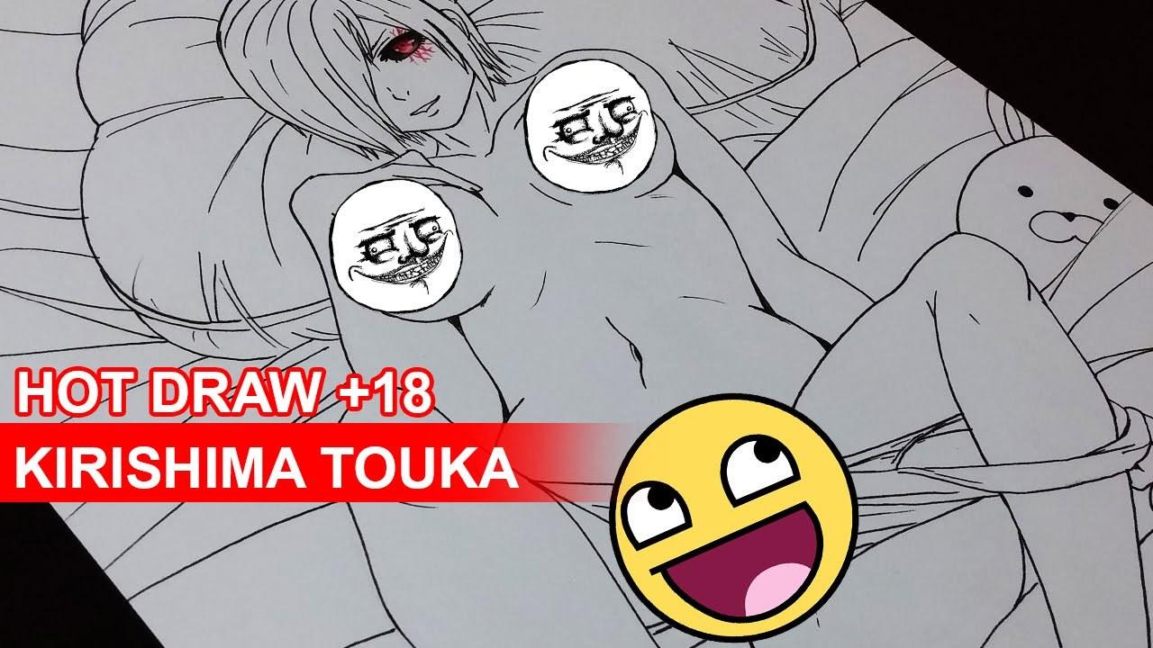 1280x720 Stream Drawing Kirishima Touka