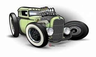 320x190 Drawing Cars