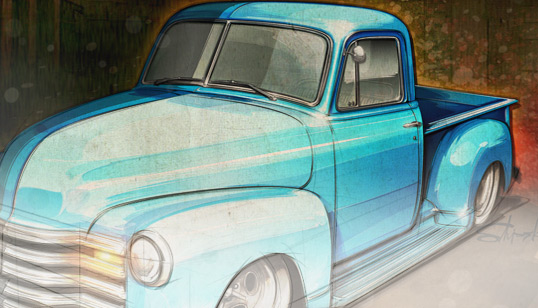 538x308 Hot Rod Design Drawing Hot Rods