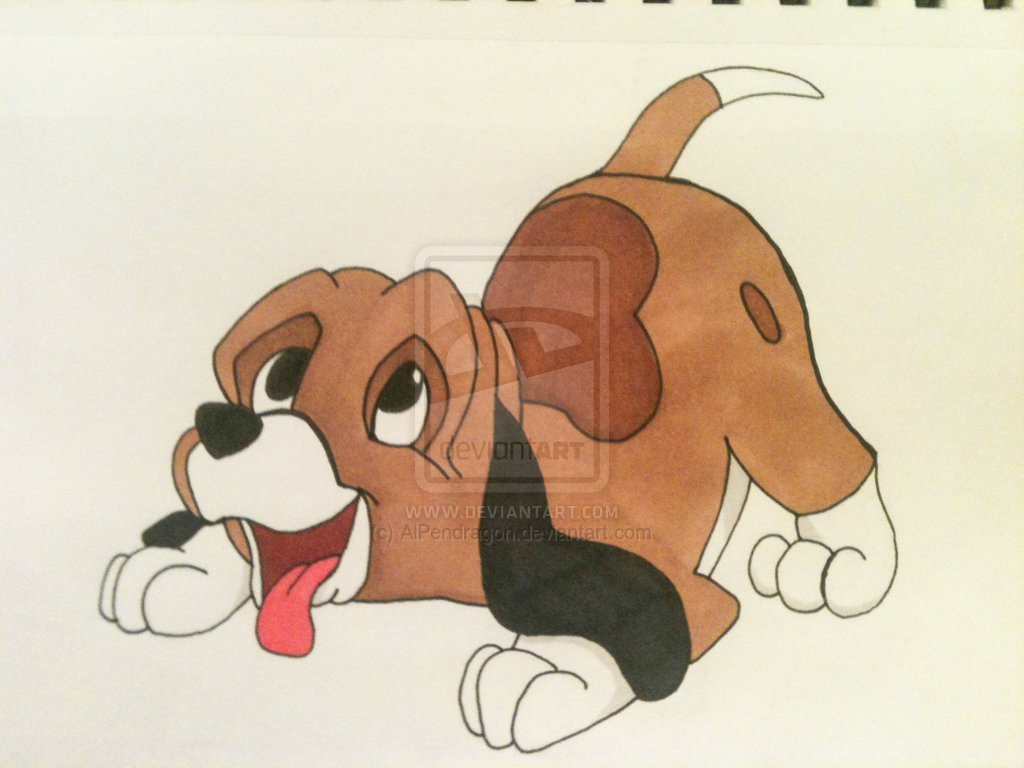 Hound Drawing at GetDrawings.com | Free for personal use Hound ...