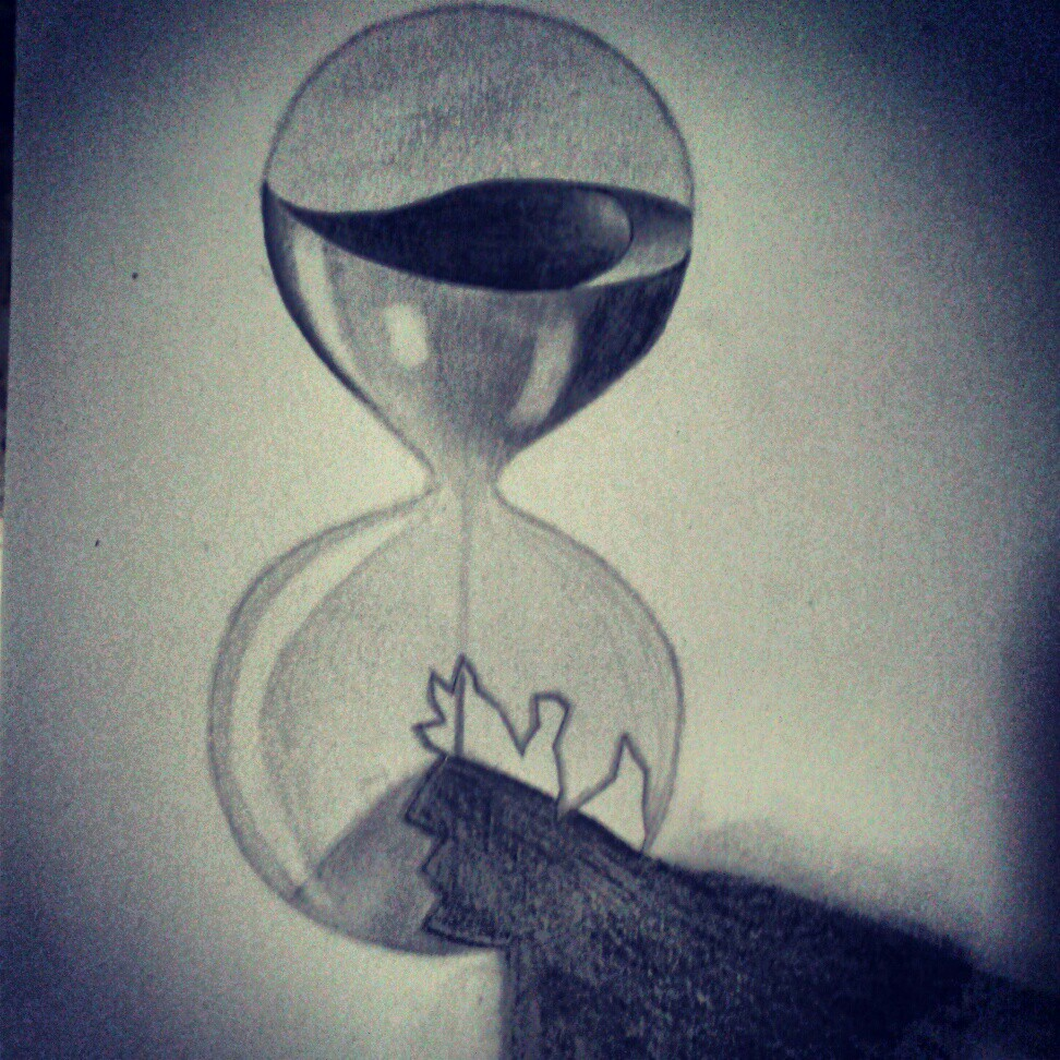972x972 Broken Hourglass My Drawings Hourglass, Tatting