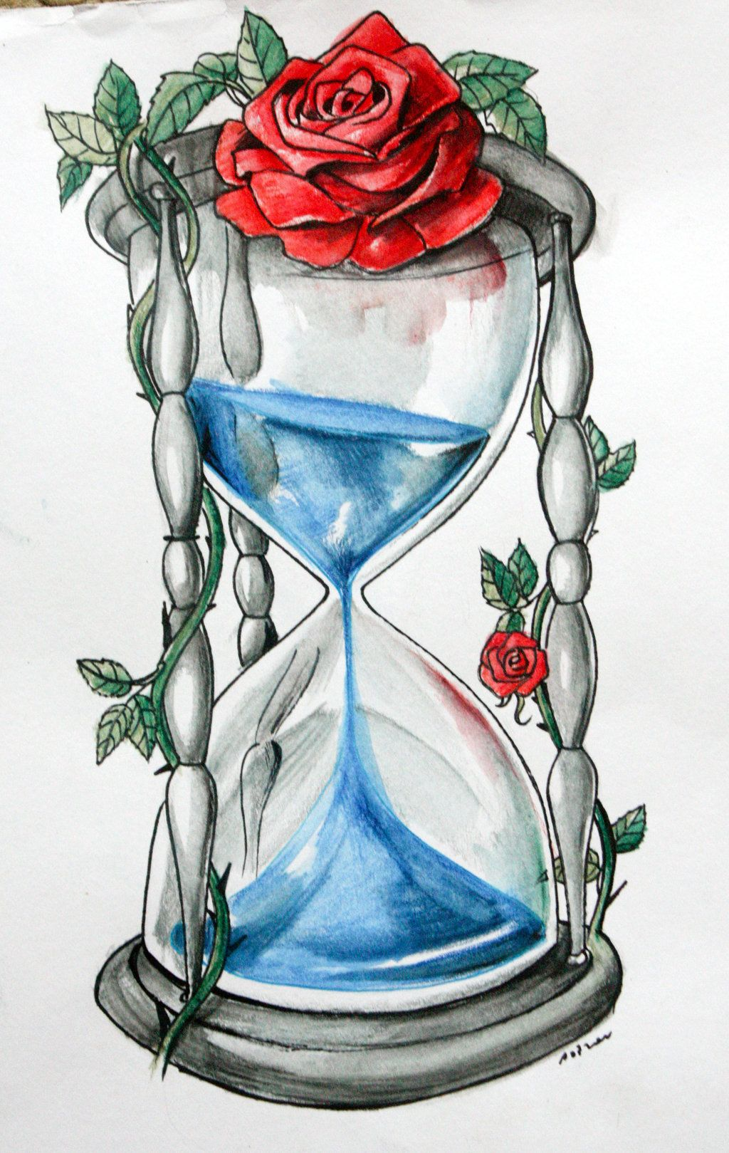 1024x1619 He Studied The Hourglass For A Few More Moments Before Waving His