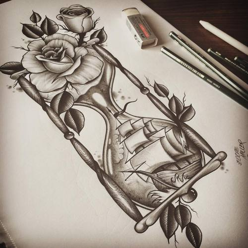 500x500 Hourglass Via Facebook Shared By On We Heart It