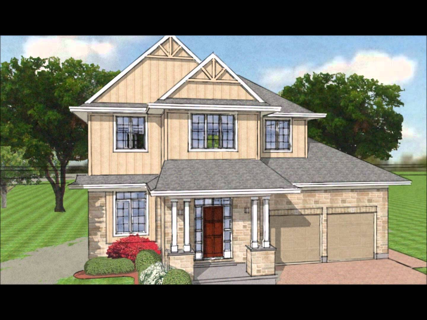 1440x1080 2d And 3d Elevation Drawings And Renderings