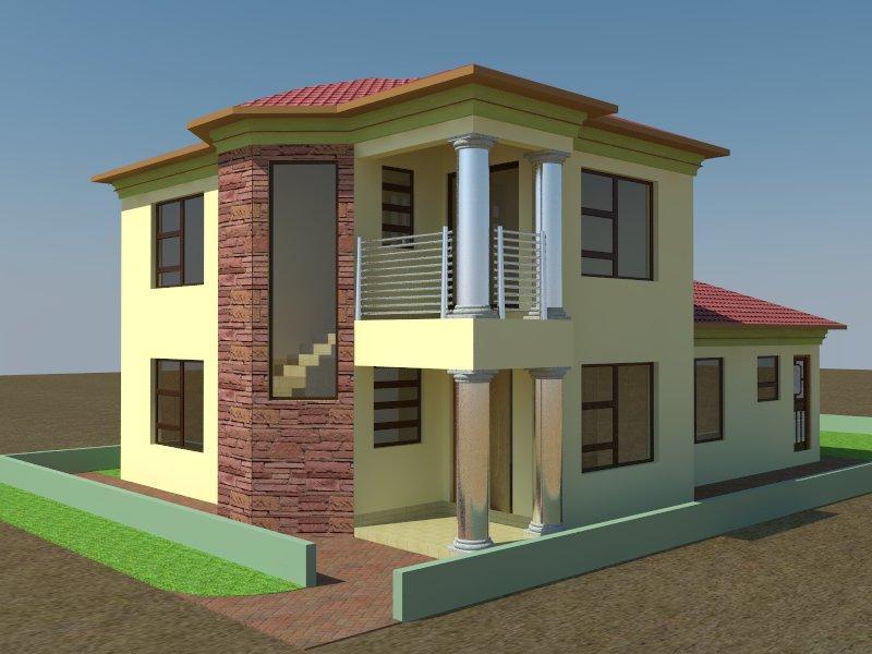 800x600 House Drawing Plan
