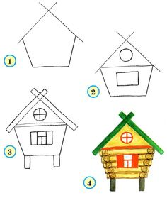 236x279 Drawing Cartoon Houses Cartoon House, Google Images And Cartoon