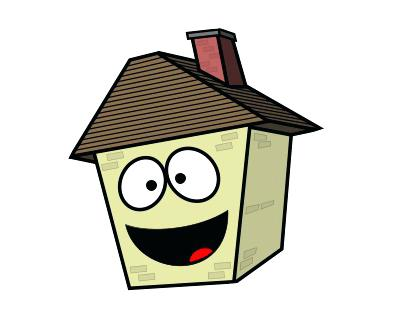 400x319 House Cartoon