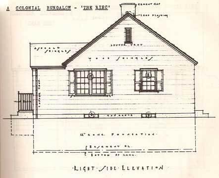 442x360 House Construction Details. By Nelson L Burbank. 1942 Populuxebooks