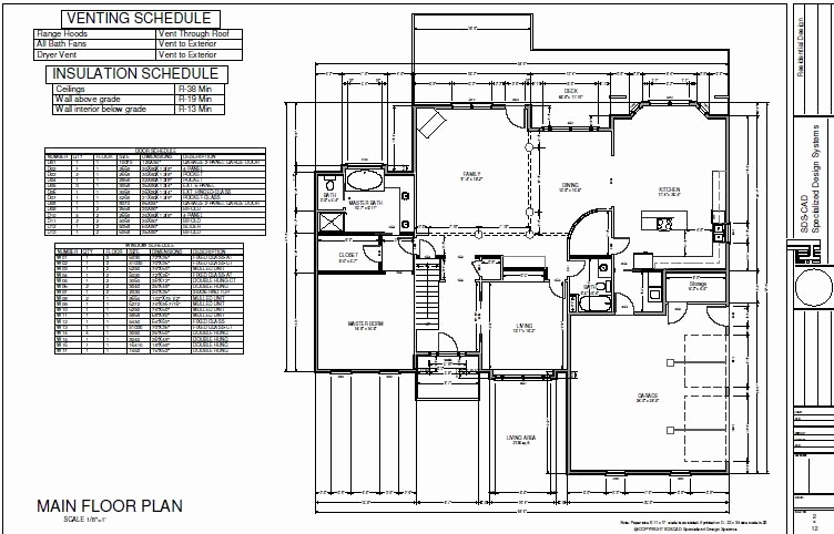 752x482 House Construction Drawings