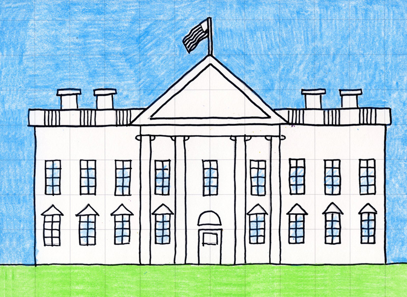 800x585 Draw the White House