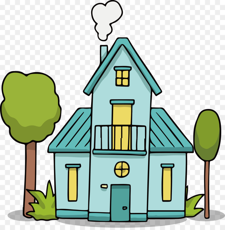 900x920 House Drawing Euclidean Vector Clip Art