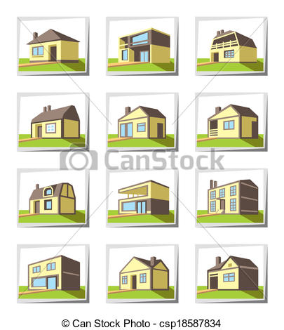 405x470 Various Types Of Houses