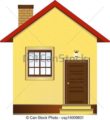 432x470 Beautiful House Clip Art