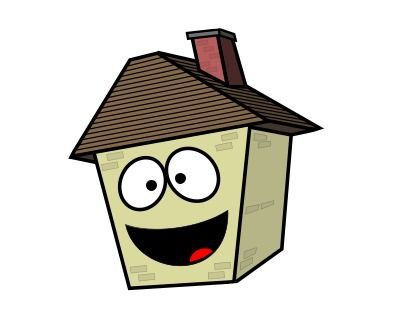 400x319 Pretty Pictures Of The House Drawing A Cartoon House Clipart Best