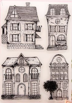 236x338 Creepy Mansion Drawing Haunted House Used To