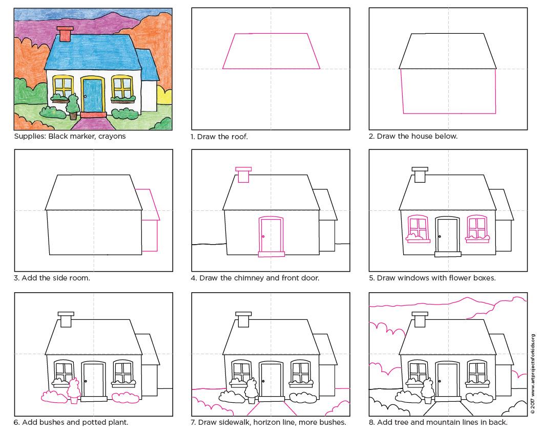 1058x848 Draw Cottage