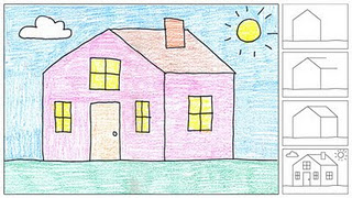 320x180 How To Draw A House, Perfect For Kindergarten! Primary Art