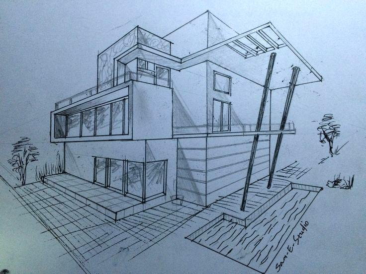 736x552 Architecture House Design Drawing