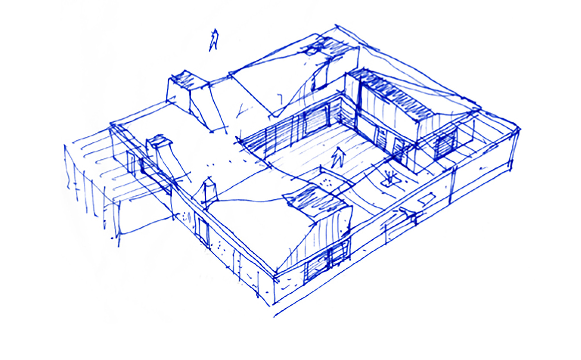 Perfect 2000x1238 Gallery Of Roof House LETH Amp GORI