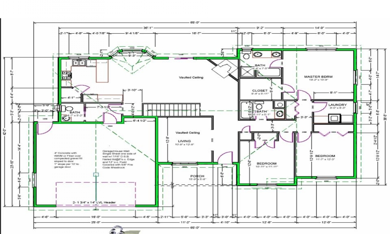 800x480 Drawing House Plans To Scale Free