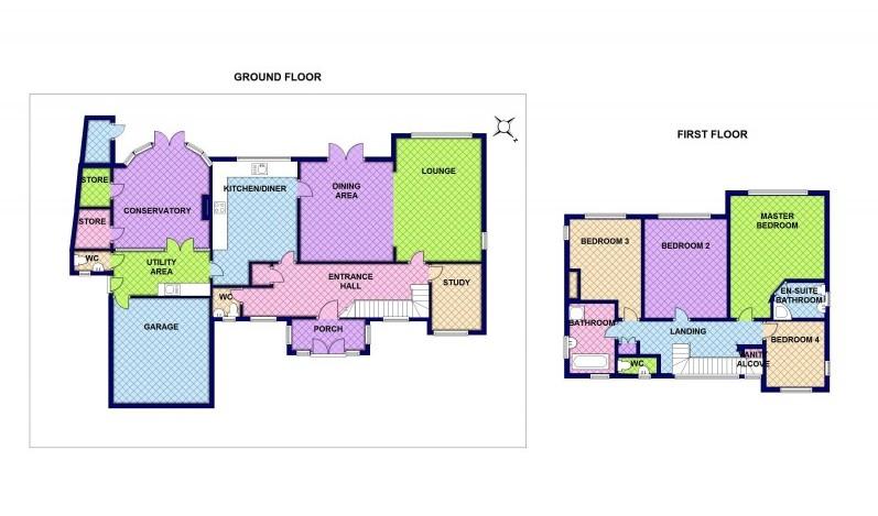 797x469 Floor Plans For Birmingham, Walsall, Tamworth