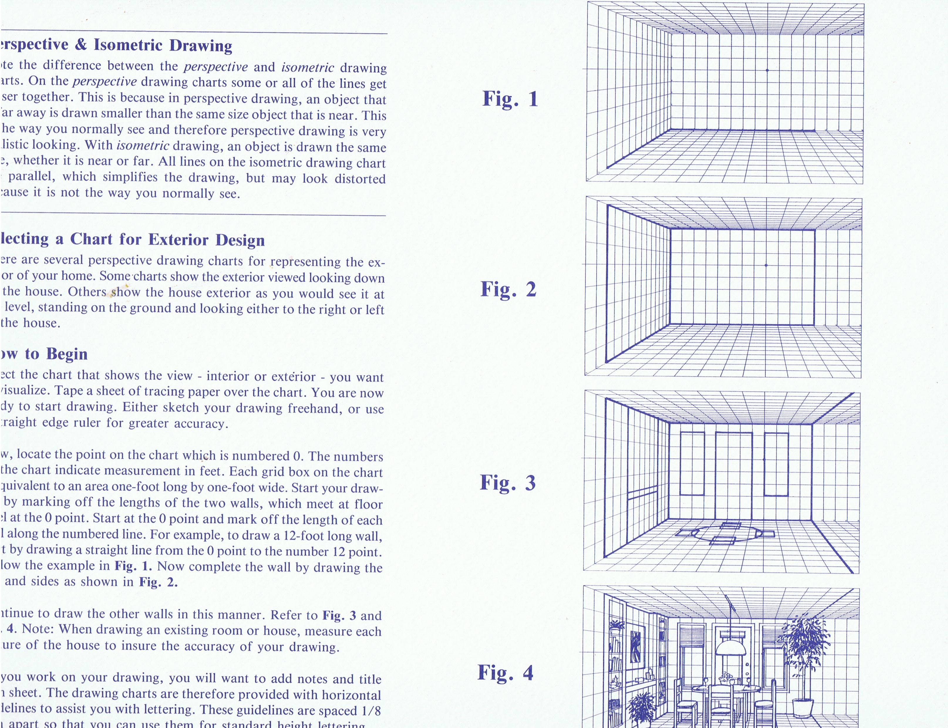 3229x2480 Model House Building Perspective Charts Grids Bricks Siding