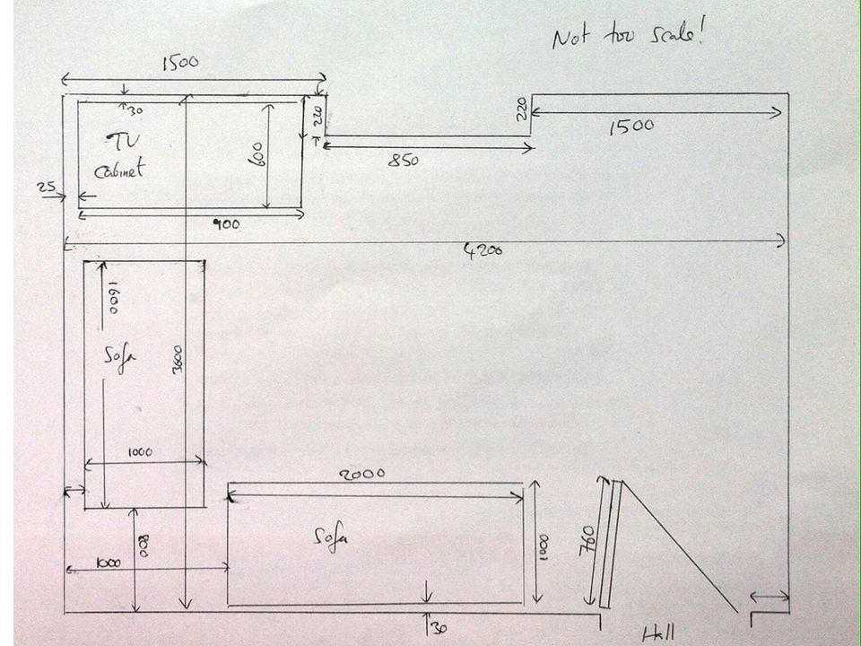 House scale drawing at free for personal for How to draw a room to scale