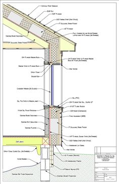 236x364 Section Drawings Including Details Examples Walls, Architecture